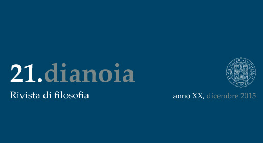 dianoia n. 21 2015